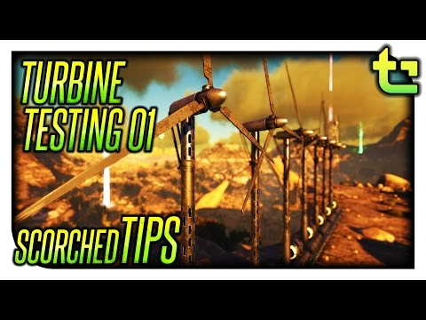 Ark:SE Scorched Tips || Testing How Turbines Work Part 01 || TimmyCarbine