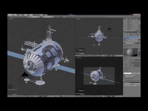 Blender For Noobs - the Secrets of Blender Modeling - Part 13 of 14