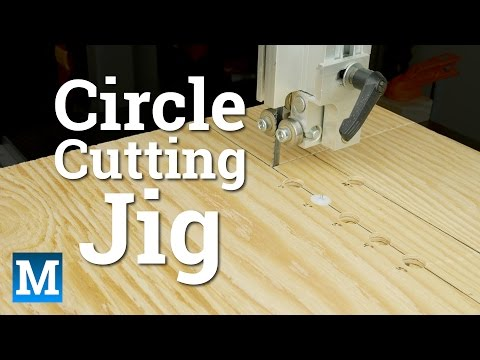 How To Make a Circle Cutting Jig for a Band Saw