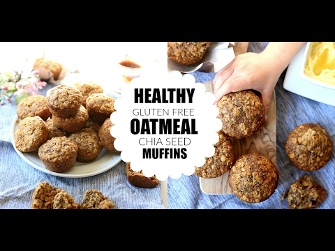 Healthy Oatmeal Muffins Recipe