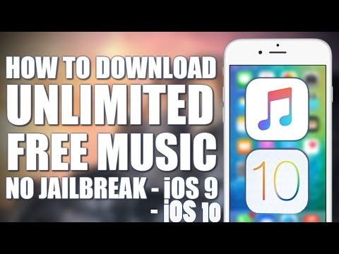 How To Download Music FREE IOS 9.3.1-10 No Jailbreak NO Crashing  NO Wifi iPhone & IPod Touch