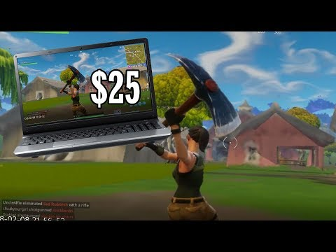 Playing Fortnite on a $25 Laptop