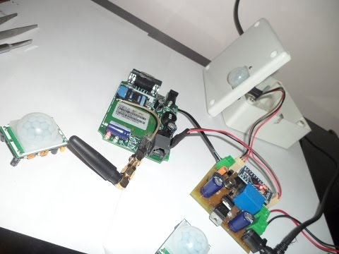 GSM Based Security Alarm System using Arduino (V1.0)