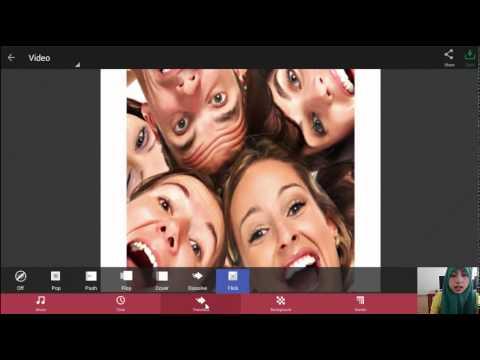 Cara membuat video di PhotoGrid