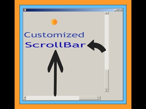 HTML CSS & JavaScript Tutorial For Beginners Part 31 : Customized Scrollbar
