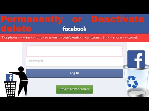 How to delete Facebook account permanently or deactivate for some time only {completely explained}