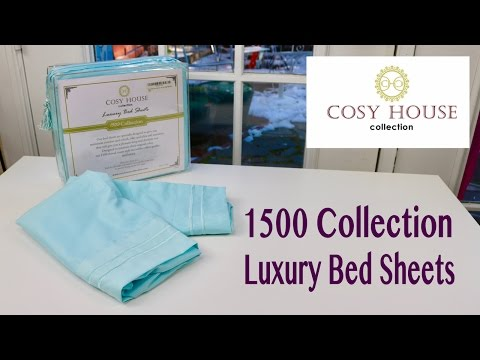 😍  COSY HOUSE  1500 Collection Luxury  Bed Sheets - unboxing  ✅
