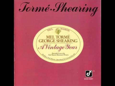 When Sunny Gets Blue - Mel Tormé & George Shearing