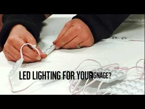 LED Lighting for signs from Business 101