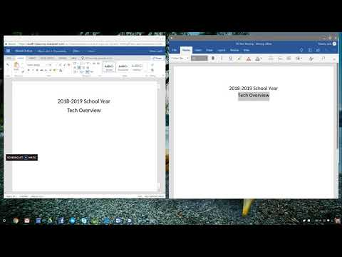 Chromebook and Microsoft Word