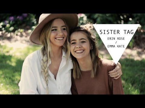 Sister Tag + Emma Kate | Erin Rose