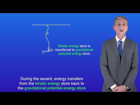 GCSE Science Physics (9-1) Energy transfers: Bungee Jumper