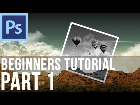 Adobe Photoshop CS6 Tutorial for Beginners (Part 1)