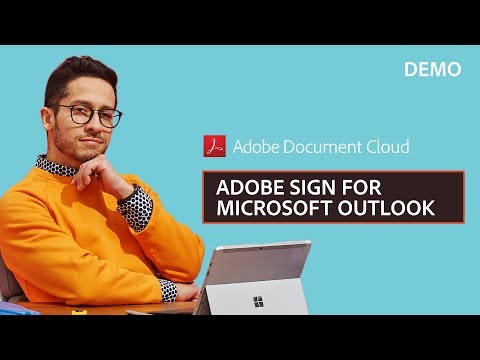Adobe Sign for Microsoft Outlook Demo