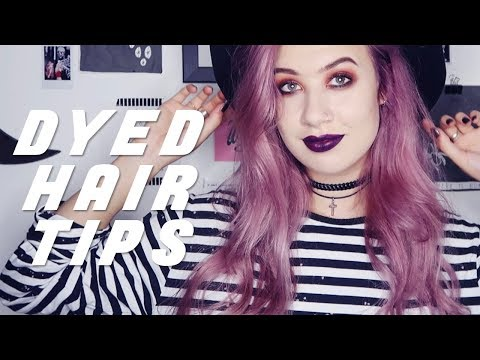 Keep Dyed Hair Healthy - Tips & Tricks | Amy Valentine AD