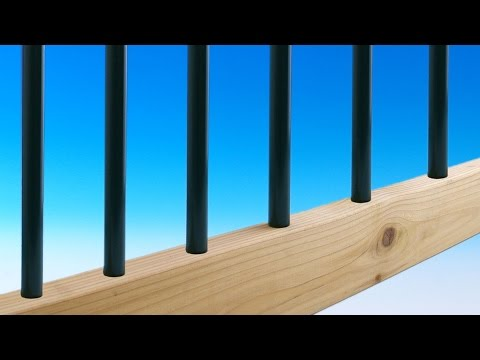 Round Aluminum Baluster by Solutions