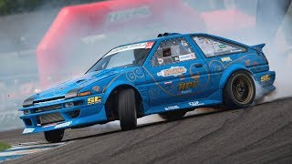 600HP + NOS Toyota AE86 Trueno Swap SR20 Turbo Engine! - OnBoard Drifting at Castelletto!