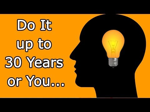 What you need to do up to 30 years that life in 50 would be good–How improve life and make it happy