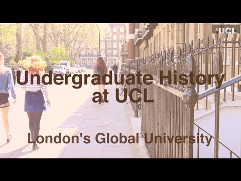Why study at UCL History?