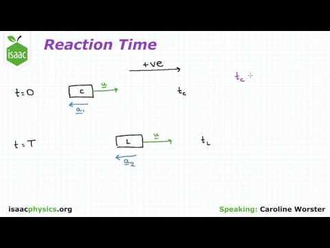 Reaction Time - Kinematics Level 2