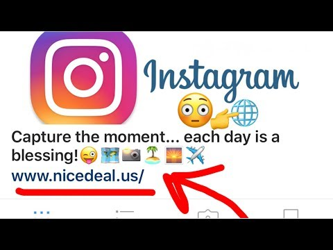 🌐How to Add A Clickable Link or Website to Your Instagram Account Page Quick Review