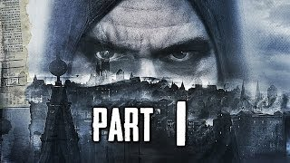 Thief Gameplay Walkthrough Part 1 includes the Prologue Mission of the Single Player for PS4, XBOX ONE, PC, XBOX 360 and PS3 in 1080p HD. This Thief Gameplay Walkthrough will also include a Review, all Chapters, Missions and the Ending.  Subscribe: http://www.youtube.com/subscription_center?add_user=theRadBrad Twitter: http://twitter.com//thaRadBrad Facebook: http://www.facebook.com/theRadBrad  Thief is a stealth video game developed by Eidos Montreal and published by Square Enix. It is a reboot of the cult classic Thief series of stealth games, of which it is the fourth game. It will be released for the Microsoft Windows, PlayStation 3, PlayStation 4, Xbox 360 and Xbox One platforms.   Thief is set in a dark fantasy world inspired by Victorian and steampunk aesthetics. Garrett, a master thief who has been away from his hometown for a long time, returns to it, a city named