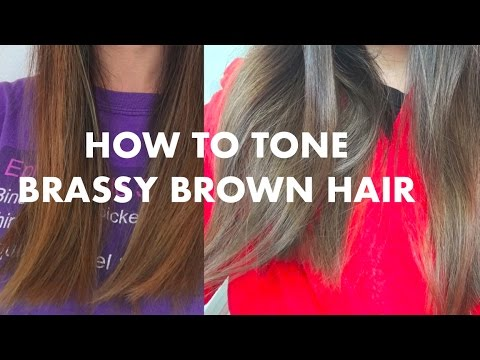 How to Tone Brassy Hair | eSalon Tinted Love Review