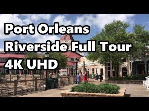 Disney's Port Orleans Riverside Resort   Full Tour   in 4K UHD   May 2017