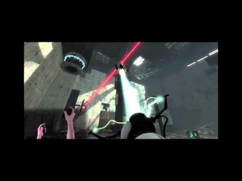 Portal 2 with the Razer Hydra