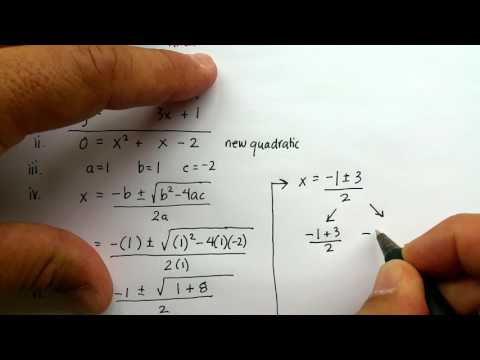 Non-Linear System of Equations: Linear and Quadratic