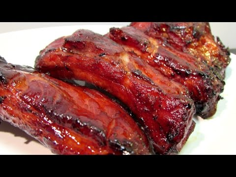 How To Make Chinese BBQ Pork Ribs (Char Siu) - Chinese Food Recipe