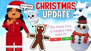 *NEW* Adopt Me CHRISTMAS UPDATE! FREE FROST FURY GIVEWAY!   SunsetSafari