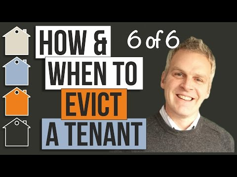 How To Evict Tenants & When Should A Landlord Do So | Property Business Basics With Tony Law