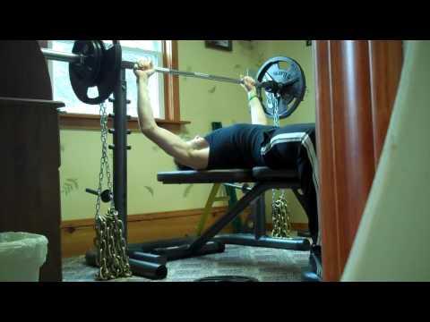 Chain Bench Press   175x5