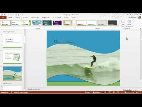 PowerPoint tutorial: How to add video to your presentation | lynda.com
