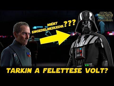 Vader miért engedelmeskedett Tarkin parancsainak? | Star Wars Akadémia