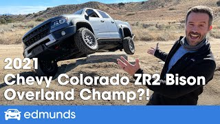 2021 Chevy Colorado ZR2 Bison Review | Chevy's Baddest Off-Road Truck | Price, Engine, Towing & More