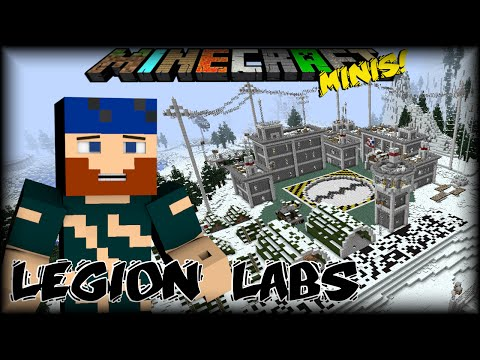 Minecraft Minis   Legion Labs   #6 OIL AND MOONSHINE