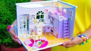 DIY Family Miniature Doll House