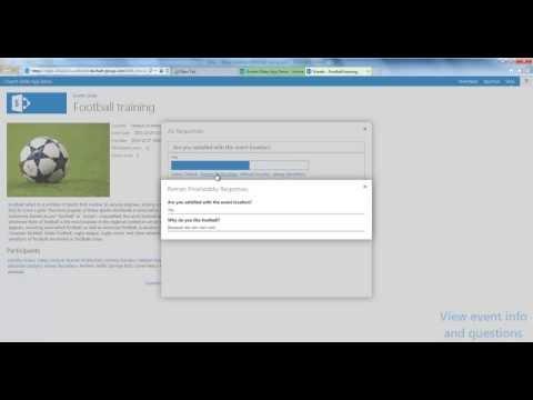 Events Slider App Demo