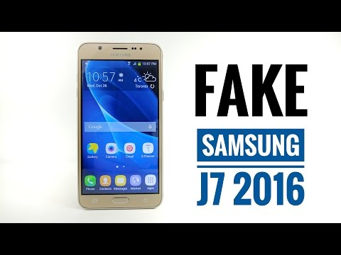 FAKE Samsung Galaxy J7 2016 Review - BEWARE 1:1 Replica !