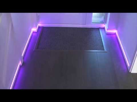 Neo-Pixels in the Skirting Board
