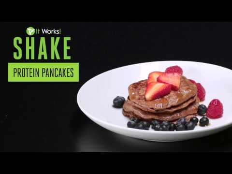 It Works! Shake Protein Pancakes