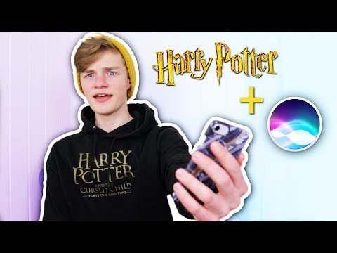 Asking Siri Harry Potter Questions?!