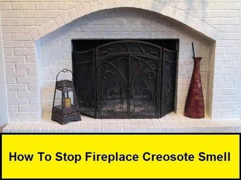How To Stop Fireplace Creosote Smell  (HowToLou.com)