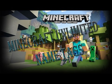 Minecraft Unlimited Name Tags Tutorial [XB1][Xbox 360][PS4][PS3] TU20