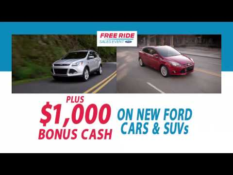 Capital Ford Free Ride Sales Event