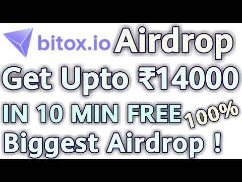 Bitox.io Biggest Airdrop | Earn Free Rs.14000 IN 10 Min HURRY !