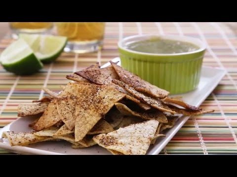 How to Make Baked Tortilla Chips | Healthy Snack Recipes | Allrecipes.com