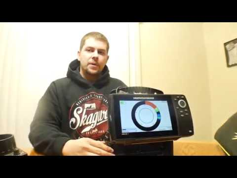 How To Set Up a Humminbird Helix For Ice Fishing!